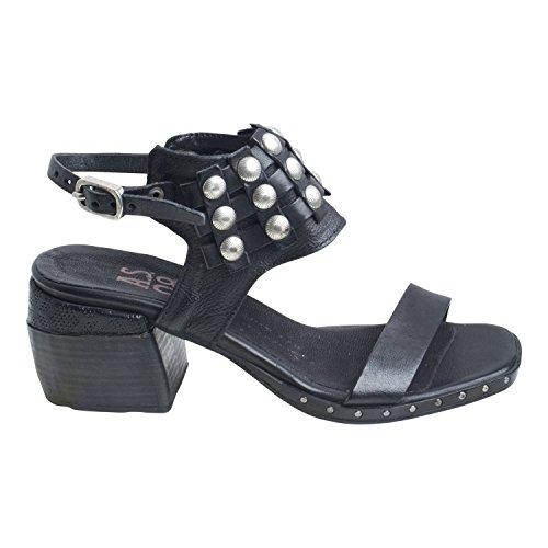 A Negro 201 Sandalias S Piel Vestir Negro de 6002 de 98 624006 Para Mujer TAqTxwHf