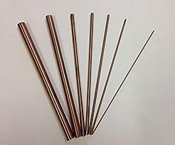 Copper Tungsten Round Rod 3/16''(D) x8''...