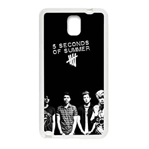 Happy 5 seconds of summer on Cell Phone Case for Samsung Galaxy Note3