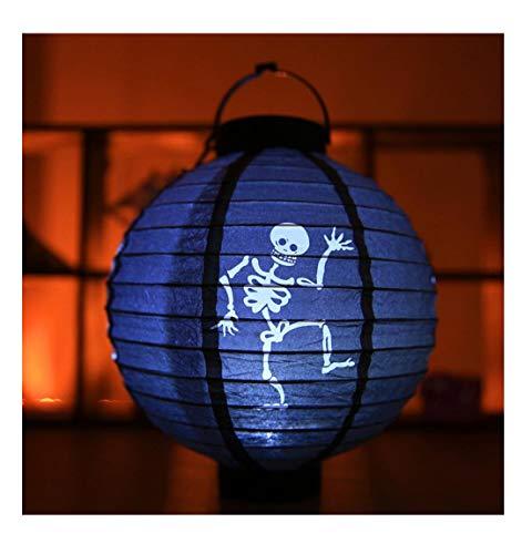 Halloween Props LED Paper Light Hanging Lantern Lamp