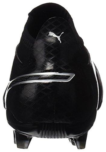 One Homme 17 Chaussures Football Puma noir Fg 3 argent De Noir Pour noir 81ZZdqw