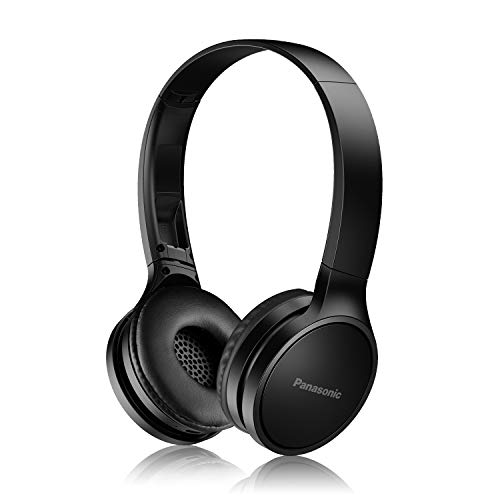 PANASONIC Bluetooth Wireless Headphones with Microphone and Call / Volume Controller - RP-HF400B-K - On-Ear Headphones (Black)
