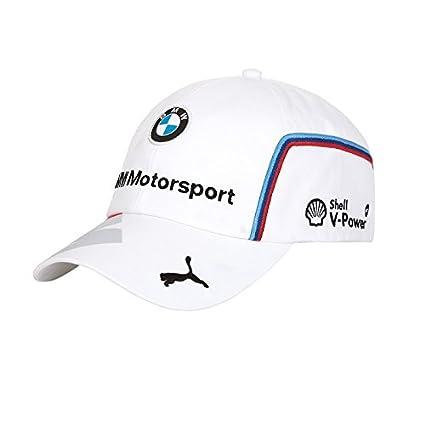 BMW Gorra Motorsport Team Blanca: Amazon.es: Coche y moto