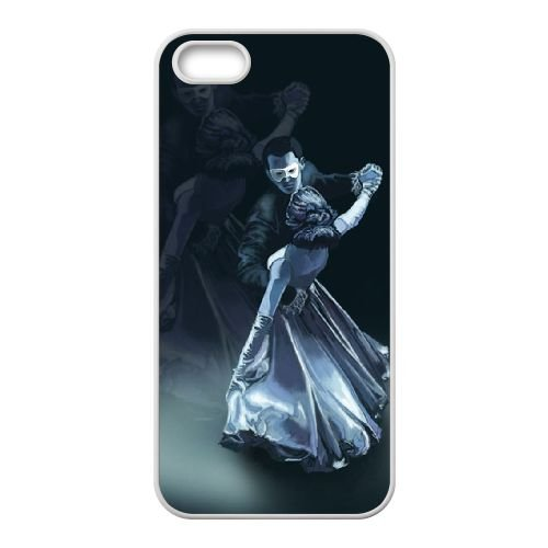 X9O65 Ballroom Dancer Z4D6EY coque iPhone 5 5s cellule de cas de téléphone couvercle coque blanche DF4YWU6QZ