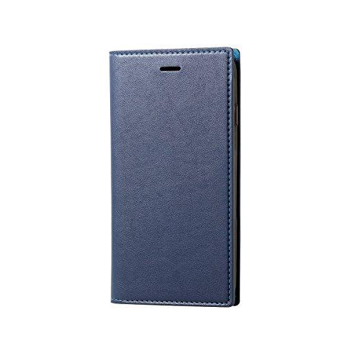 乱暴なマーガレットミッチェル着替えるエレコム iPhone8 ケース カバー 手帳型 レザー イタリアンレザー Coronet iPhone7 対応 ネイビー PM-A17MPLFYILNV