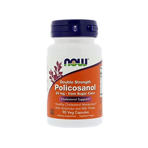 NOW® Policosanol, 20 mg, 90 Veg Caps