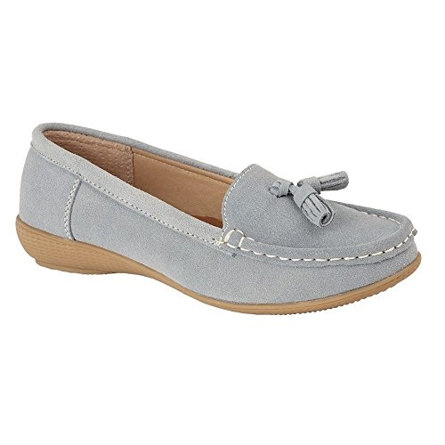 Femme Daim Ciel Boulevard Bleu Chaussures En qHZZ4tP