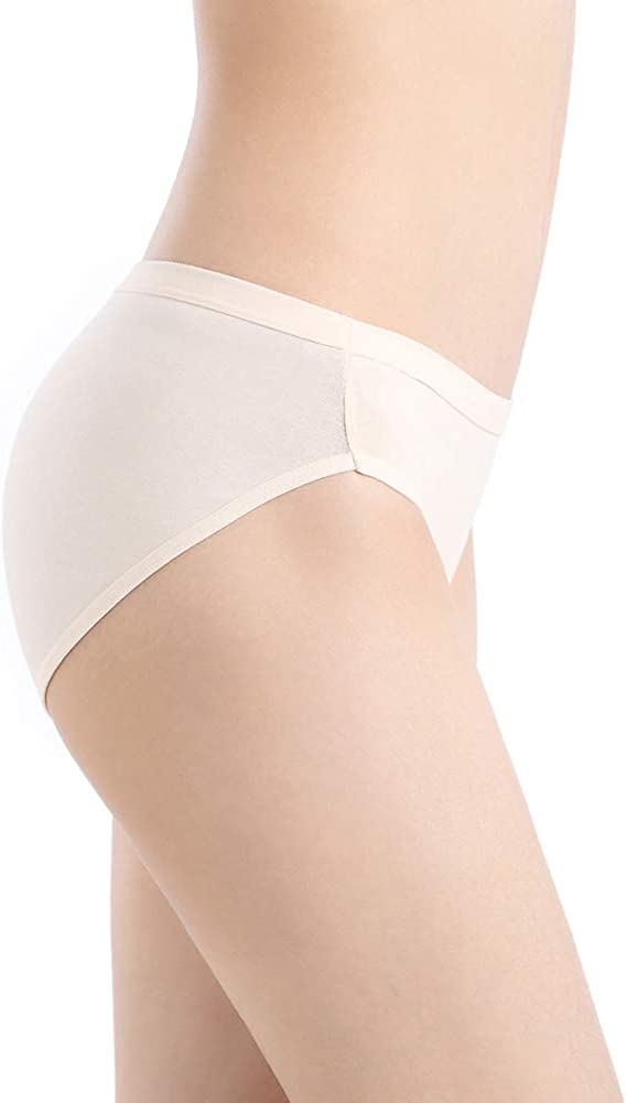 Closecret Womens Comfort Cotton Stretch Bikini Panty