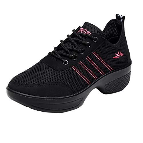 Lucille Black Adult Shoes - Athli Women's Ballroom Tango Latin Salsa Dancing Shoes Sequins Shoes Social Dance Shoe Ballroom Dance Shoes Black