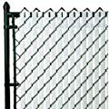 PVT- Top Locking Privacy Vertical Inserts 4' high-Black