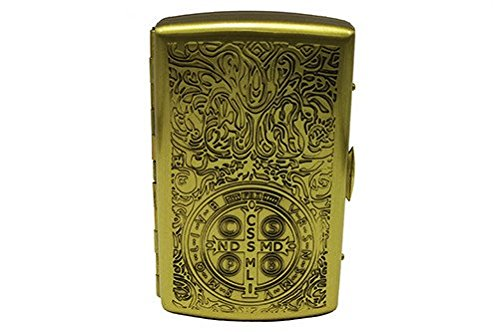 Actopus Pure Brass Constantine Ghost Elegy Cigarette Boxes Case (Old Cigarette Holders)