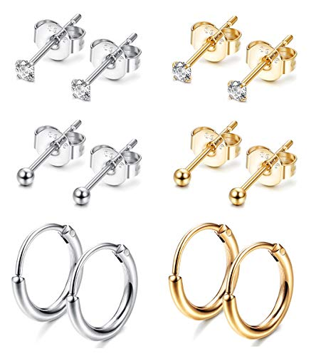 Sllaiss Sterling Earrings Cartilage Piercing product image