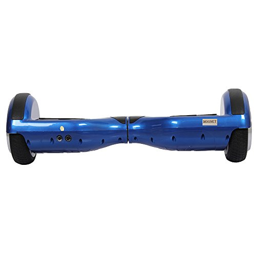 Moonet Two Wheels Smart Self Balancing Unicycle Scooters Drifting Board Electric Personal Transporter-outdoor Sports Kids Adult Transporter with LED Light Blue