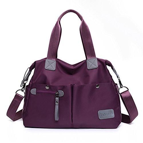 Yokeeyoo - Bolso mochila  para mujer morado morado Free morado