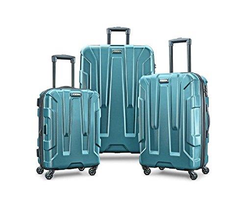 Hardside Set - Samsonite Centric Expandable Hardside Luggage Set with Spinner Wheels, 20/24/28 Inch, Teal