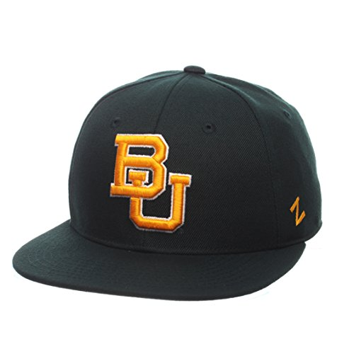 Zephyr NCAA Baylor Bears Men's M15 Fitted Hat, 7_1/2, Forest
