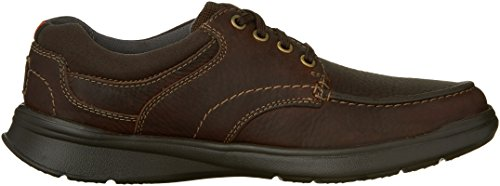 CLARKS Mens Cotrell Edge Oxford, Brown Oily, 15 M US