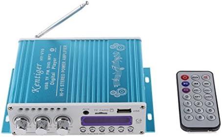 DollaTek Mini Bluetooth estéreo de Alta fidelidad de Audio Amplificador AMP Bass Booster MP4 12V de la Ayuda FM / MP3 / TF/USB/DVD para Coche de la ...