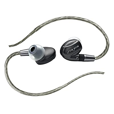 AUDBOS K3 Triple Driver In-ear Earphones with Premium Dual Balanced Armatures and Graphene Dynamic Drivers