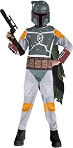 Star Wars Child's Boba Fett Costume, Medium