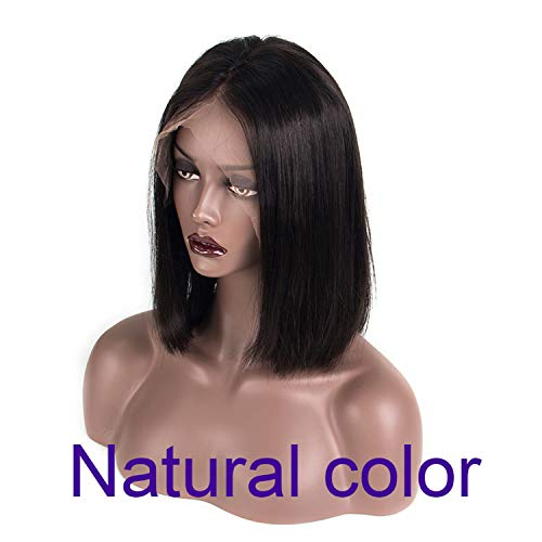 Long Parting Lace FrontHair Wigs With Baby Hair Pre- OmbreHair Wig,Natural Color,8inches,130 density