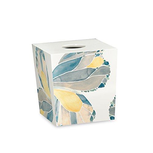 - Shell Rummel Butterfly Tissue Box, Yellow