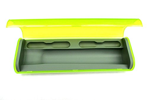 Replacement Plastic Travel Case for Braun Oral-B Toothbrushes D12,DB4510,D16,D20,OC20,600,650,1000,2000,3000... (Green)