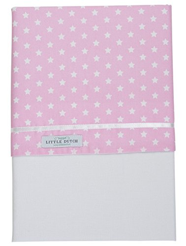 Little de tejo holandés 0374 de pesaje sábanas punto rosa o ...