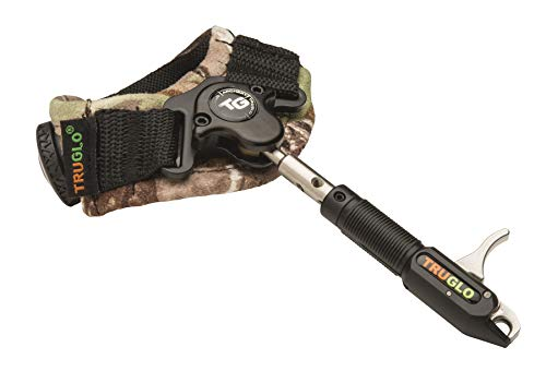 TRUGLO ACTIVATOR Single-Jaw Roller Sear Archery Release, Realtree APG Camo BOA Strap, Side-Lock Connection