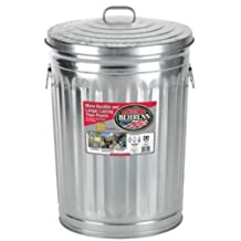 Behrens 1211 Garbage Can with Side Drop Handles, 20 gallon