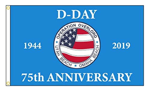 D-Day 75th Anniversary 3x5 Flag