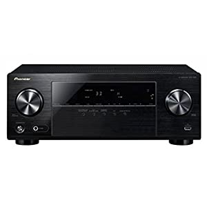 Pioneer VSX-330 5.1CH AV Receiver with Dolby TrueHD, DTS-HD Master Audio, 3D & Ultra HD 4K Passthrough