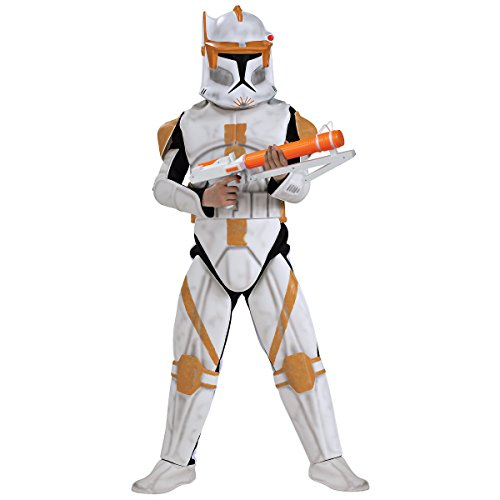 Deluxe Clone Trooper Commander Cody Costume - Large