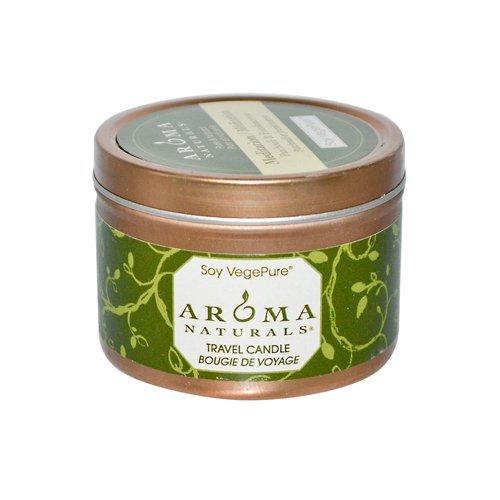 Wht Tin - AROMA NATURALS MEDITATN WHT TIN SY, 2.8 OZ CASE_8 by Aroma Naturals
