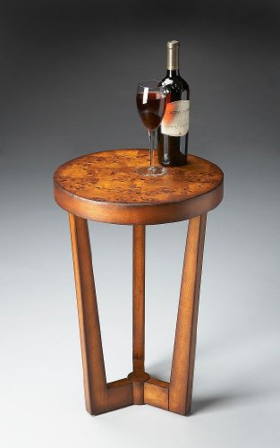 - Butler Specialty Company Olive Ash Burl Accent Table
