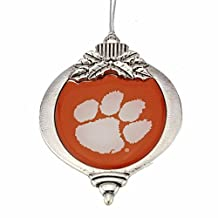 Christmas Ornament with Clemson Tigers Logo
