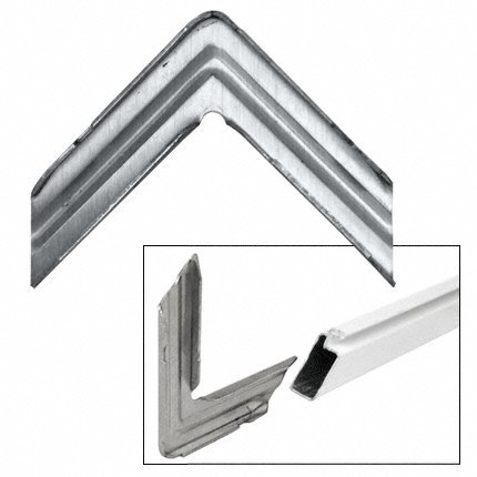 CRL Aluminum Corner for WSF344 Series Screen Frame - 100 pack by C.R. Laurence