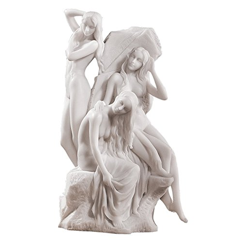 Artistic Solutions 11 Museum Replica French Nymphs Bonded Marble Statue Sculpture