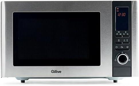 Qilive Q.5306 Encimera 19L 800W Plata - Microondas (Encimera, 19 L ...