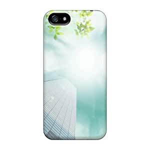 Grace's Favor Fashion Protective Sun Building For Iphone 5C Phone Case Cover