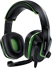 Fone de Ouvido Headset Gamer GRX-440 Dreamgear DGXB1-6638 Preto e Verde