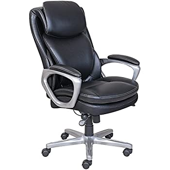 Serta Smart Layers AIR Arlington Executive Chair Black/Pewter
