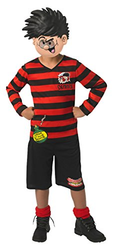 (large Ages 7-8) - Rubie's Official Dennis The Menace Boys Fancy Dress (Dennis The Menace Costume Child)