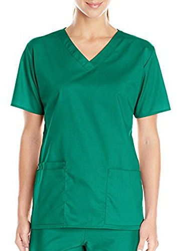 Taylover Womens Medical Scrubs Unisex Mock wrap Scrub top Nursing Scrub Medical Scrub - Nursing Top Scrubs Unisex