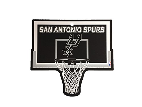 San Antonio Spurs NBA Basketball Hoop Street Sign by FGCSports