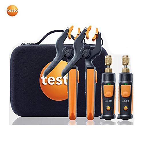 (Testo Refrigeration Wireless Smart Probe Set Testo 549i and testo 115i Kit for Smartphone Operation 0563 0002)