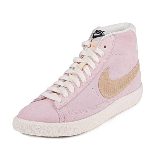 Pink Nike Blazers (Nike Men's Blazer MID PRM Vintage QS Pink/Sail 638322-601 (SIZE: 12))