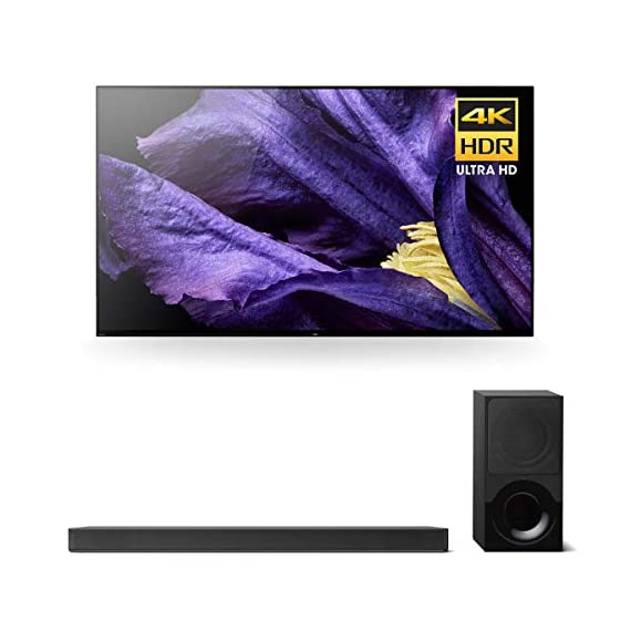 """sony xbr-55a9f 55"""" master series bravia oled 4k hdr tv and ht-x9000f 2.1-channel dolby atmos soundbar with subwoofer - 41PwuJIToqL - Sony XBR-55A9F 55″ Master Series BRAVIA OLED 4K HDR TV and HT-X9000F 2.1-Channel Dolby Atmos Soundbar with Subwoofer"""