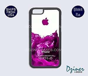 iPhone 6 Plus Case - Purple Water Splash iPhone Cover