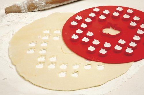 Bargain Norpro 3259 Apple Pie Top Cutter, 10-Inch, Red online